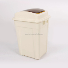 Cheap outdoor indoor recycle bin, color code recycle bin, plastic recycle bin