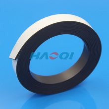 refrigerator magnetic strip soft rubber magnet self adhesive strip printed adhesive tape