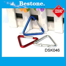 Bestone fashion small triangle swivel carabiner DSK046