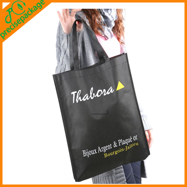 Eco-friendly pp spunbond non woven fabric bag for shopping