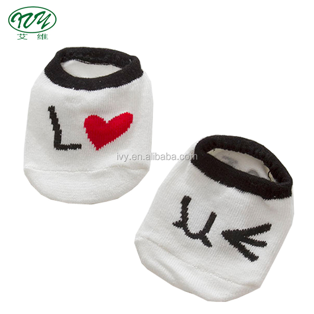China wholesale hot sale new styles love pair design booties ankle summer character socks