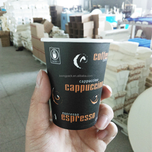 biodegradable disposable single wall printed coffee paper cup machine