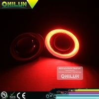 "2.5"" Projector Lens Halo Ring COB Angel Eyes Led Fog Light"