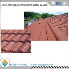 colorful stone coated metal roof tile/Galvanized and Aluminized tile