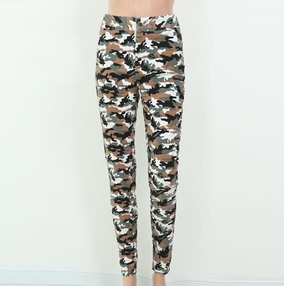 Army Fancy Capris Pants Made In China For Fashion Women