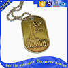 High performance metal custom mens dog tag