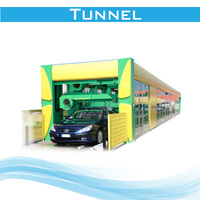 FD 9 brush tunnel car wash equipment made in china