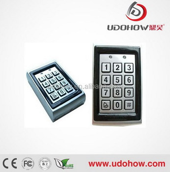 Touch Keypad 125KHz Standalone Single Door Access Control DH-7612