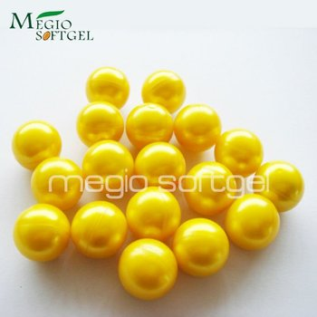 0.50 caliber Metallic Yellow shell Yellow fill paintballs