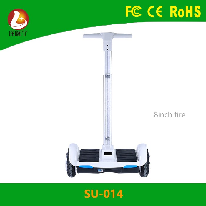 Wholesales adults self balancing scooter electric bike 2 wheels hover board with handle and LED lights