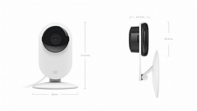 Original Xiaomi Xiaoyi Smart CMOS Camera 1280 x 720 Wireless Control Mini Webcam for iOS Andriod Smartphone PC xiaoyi IP Camera