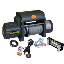 Wireless remote control low high fast line speed electric winch 1ton 5 ton 3 ton 2 ton