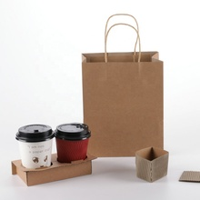 <strong>paper</strong> cup holder Two-hole coffee takeaway cup holder Customized Size Disposable <strong>Paper</strong> Cup Holder Tray Carrier