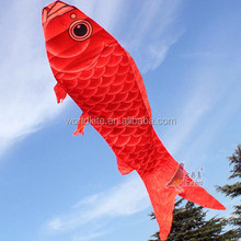 Chinese large red fish kites for sale