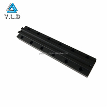 OEM ODM Custom Black Anodized CNC Drilling Extruded Aluminum Profiles For Ceiling Lamp