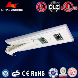 BV ISO9001 CE ROHS certificate 100lm/w ip65 high power solar led street light all in one
