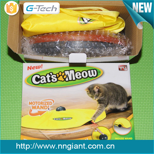 New product Cat's Meow Undercover Mouse Cat Toy Electronic Cat Toy