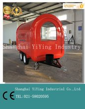 YY-FR300 CE Distinctively design food cart truck and small car trailer dimensions