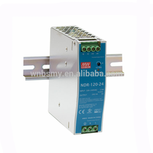 Hot selling With Good Quality Metal case, economical models 3 years warranty mean well 24v 5a din rail power supply