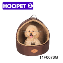 Pet supplies removable mat washable dog beds canopy cat house dog basket