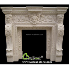Hot Selling Factory Customized Marble Fireplace
