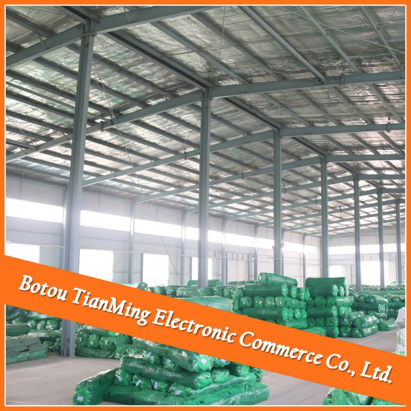steel fabricator steel building and sandwich panel onion warehouse made in china
