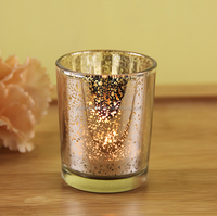 mercury glass votives Candlelight Candlelight silver mercury finished glass
