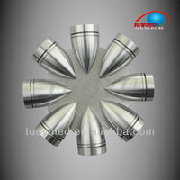 Specular Aluminum 8w LED Wall Mounted Light