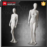 Sexy Lifelike Female Abstract Glossy Mannequins
