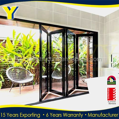 3 panel lowes patio sliding folding french doors exterior for Folding patio doors lowes