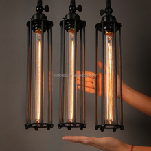 Vintage Pendant Lights American Country Retro Steam Punk Industrial Style Cafe decoration Lamp E27 Holder AC110V/220V