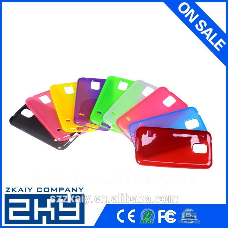 TPU Soft Case For Samsung Galaxy S5 TPU Case