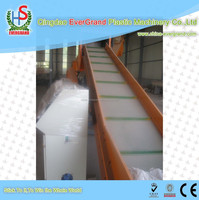 plastic waste film recycling crushing and washing line