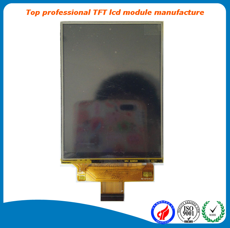 "factory hot selling 3.5"" color tft lcd 320x480 lcd display A grade at low price"