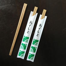Hot Selling Paper Bag Packed Disposable Bamboo Chopsticks