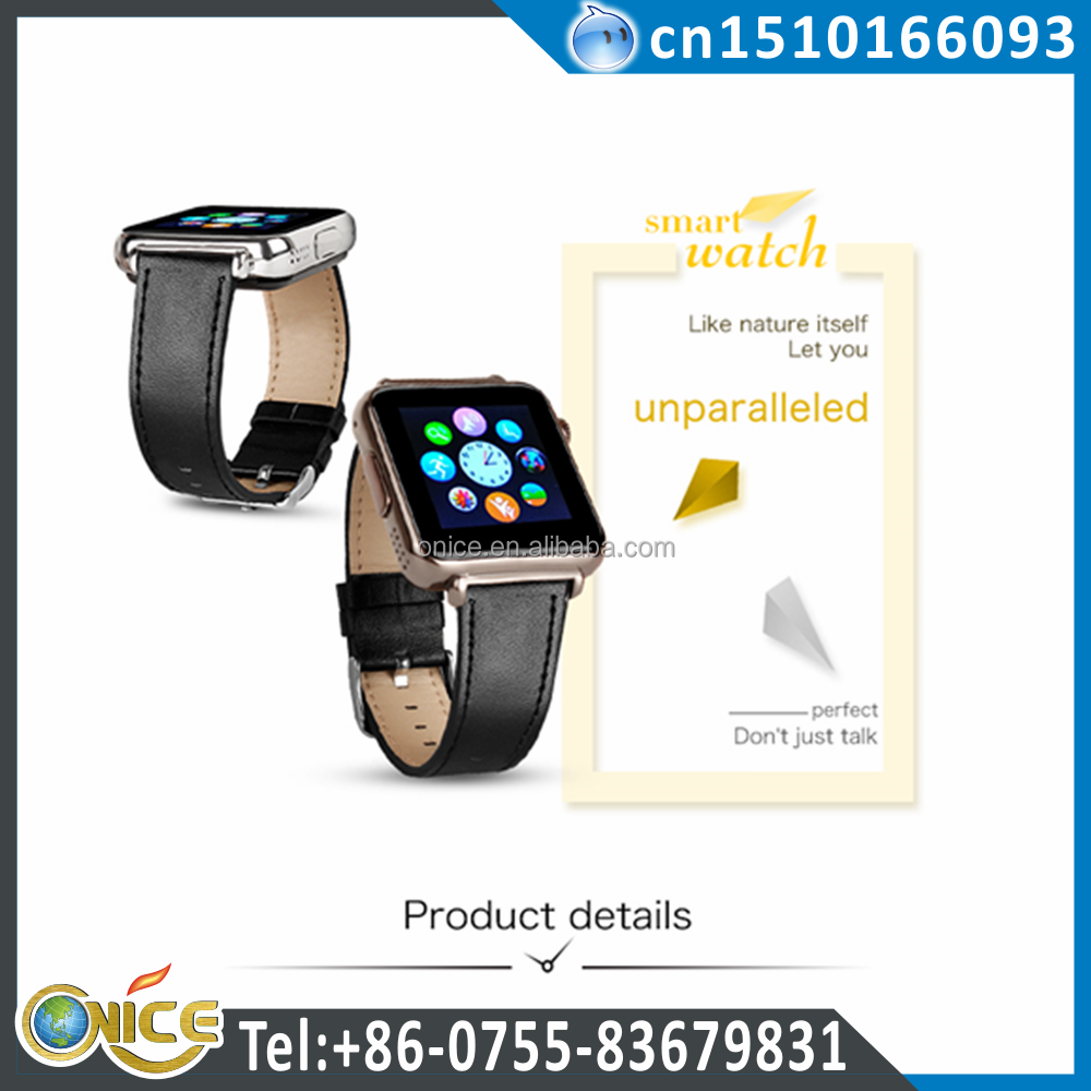 Y6 GSM smart watch phone Single micro SIM card touch screen watch with bluetooth 3.0 support Mp3