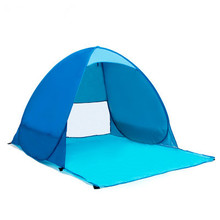 Outdoor Automatic Pop Up Tent Baby Beach pool Sun Shelter UV Protection Sun Shelter Beach shade for Baby and Family