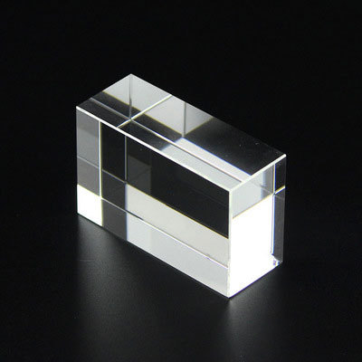 Wholesale blank crystal cube plaque for lasering and photo crystal