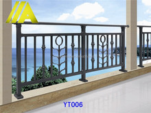 YT-006 Alibaba china lowes wrought iron railings for porch/deck/balcony