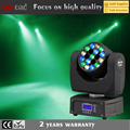 19*3w flash light dmx led moving head beam light for christmas party