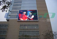 Shanghai CE,UL,SAA Outdoor P20mm Fullcolor LED Screen Display Wall Building Advertising Billboards