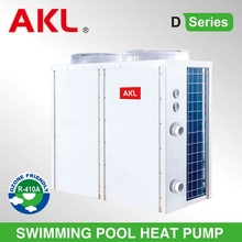 2016 hot sale AKL heat pump swimming pool heater,factory supply swim pool heat pump
