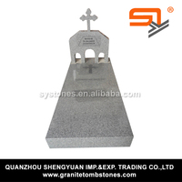 the muslim tombstone color white for funeral from China