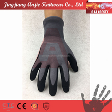 A&J Nylon abrasion resistant coated working nitrile gloves