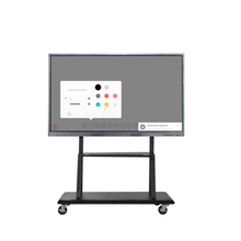 65 Inch Smart All In One PC Interactive Panel With Computer For Education