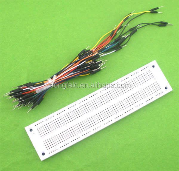 SYB-130/120 700 Points Breadboard + 65pcs Jumper Wires