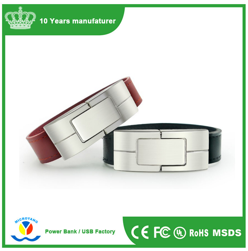Pendrive Wristband Watch Shape, Waterproof Watch USB