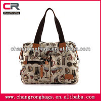 Ethnic embroidery canvas handbag leisure bag cloth bag