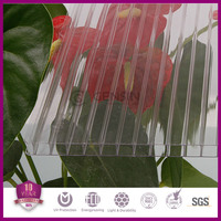 Crystal hollow lexan polycarbonate sheet