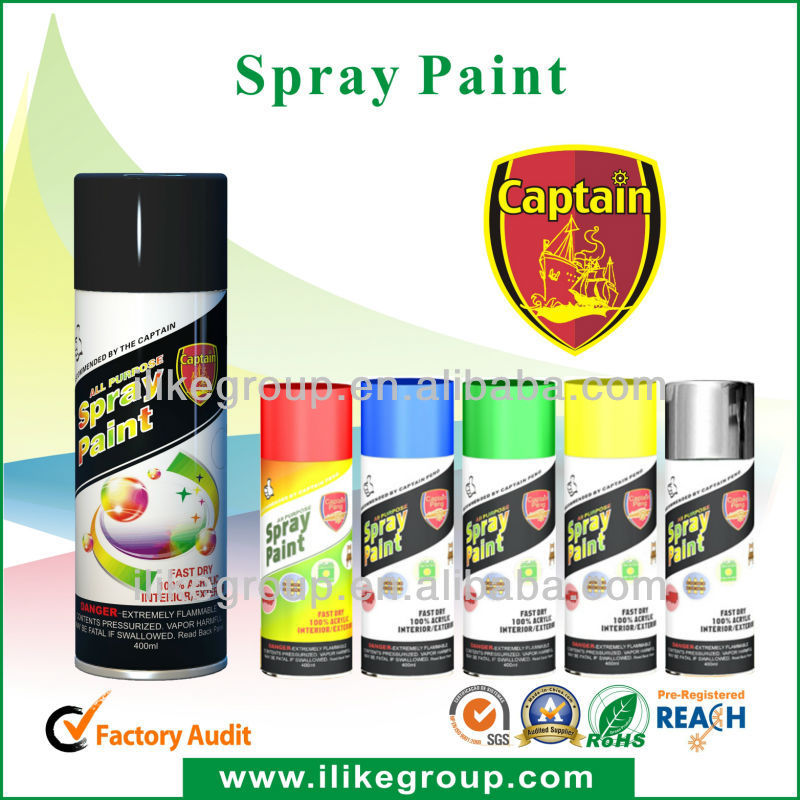 Aerosol Spray Paint Manufacturer (SGS& BV audited factory )ROHS,REACH,SGS ce